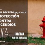 Decreto Protección contra incendios