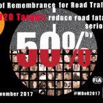Día mundial victimas de tráfico